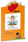 Love is... Моей единственной (миниатюрное издание + открытка)