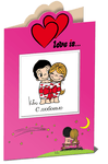 Love is... С любовью (миниатюрное издание + открытка)