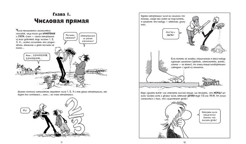 Алгебра. Естественная наука в комиксах - купить и читать книгу