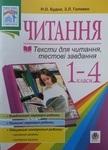 Підсумкові контрольні роботи з читання. 1-4 класи