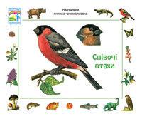 """Купить книгу """"Співочі птахи. Навчальна книжка-розмальовка"""""""