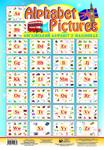 Alphabet Pictures. Англійський алфавіт в малюнках. Навчальний посібник в таблицях