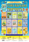 Усна народна творчість. Навчальний посібник в таблицях. 1-4 класи (за програмою 2012 р.)