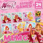 Винкс. Настольная игра Мемо + 24 puzzle mini