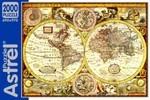 Карта полушарий. Пазл, 2000 элементов