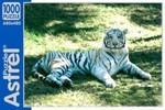 Белый тигр. Пазл, 1000 элементов
