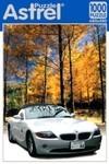 БМВ-купе в лесу. Пазл, 1000 элементов