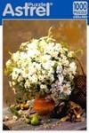 Белые цветы. Пазл, 1000 элементов