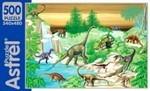 Динозавры. Пазл, 500 элементов