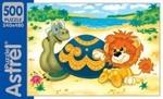Львенок и Черепаха. Пазл, 500 элементов