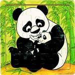 Панда. Пазл, 500 элементов