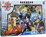 Bakugan (Бакуган): Битва отважных. Пазл, 60 элементов.