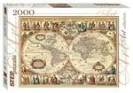 Историческая карта мира. Пазл, 2000 элементов