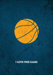 I Love This Game. Баскетбол. Блокнот