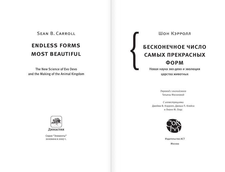 """Купить книгу """"Бесконечное число самых прекрасных форм"""""""