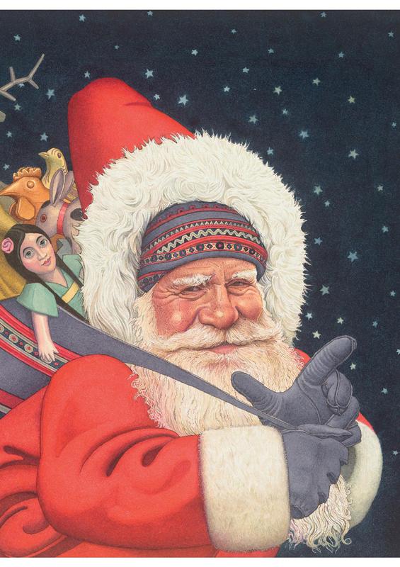"""Купить книгу """"Санта Клаус и его приключения"""""""
