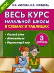 Весь курс начальной школы в схемах и таблицах. 3 класс. Русский язык, математика, окружающий мир