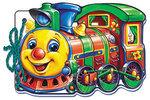 Кумедні машинки. Поїзд