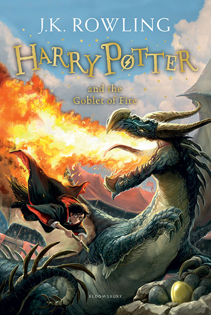 "Купить книгу ""Harry Potter and the Goblet of Fire"""