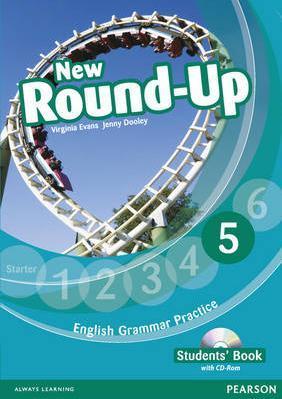 """Купить книгу """"New Round-Up: Student's Book: Level 5 / Грамматика английского языка 5 (+ CD-ROM)"""""""