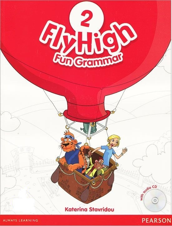 "Купить книгу ""Fly High 2: Fun Grammar (+CD)"""