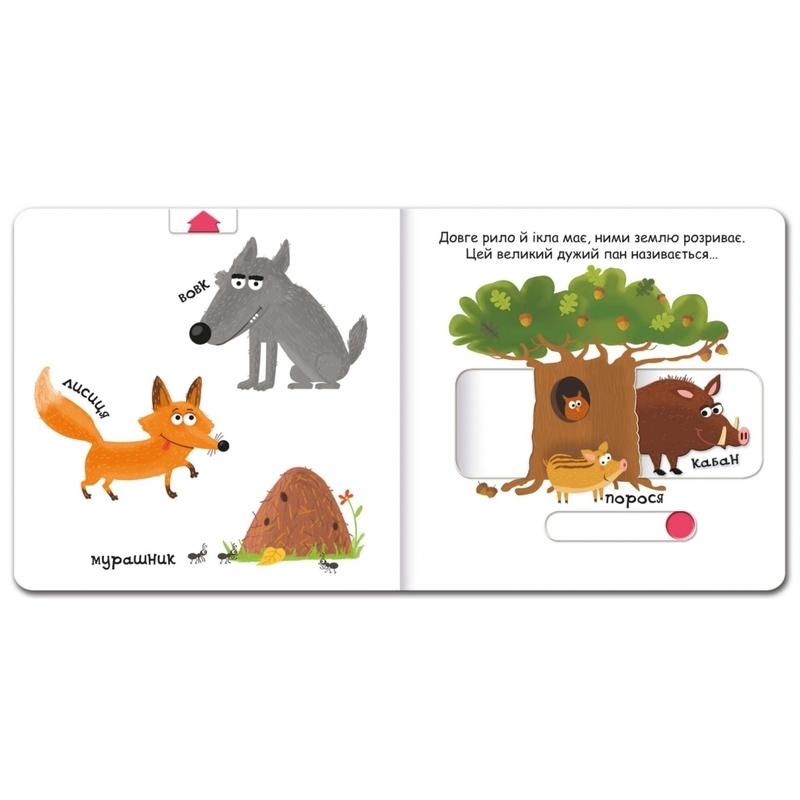 """Купить книгу """"Тварини в лісі"""""""