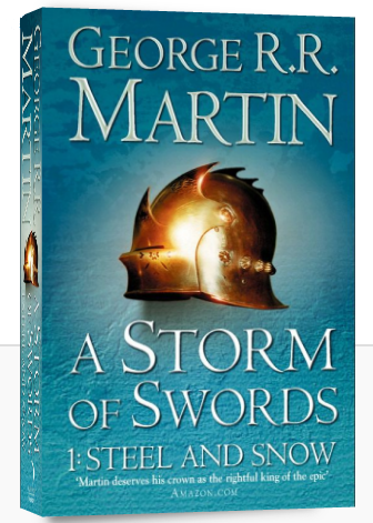 "Купить книгу ""A Storm of Swords: Part 1: Steel and Snow"""