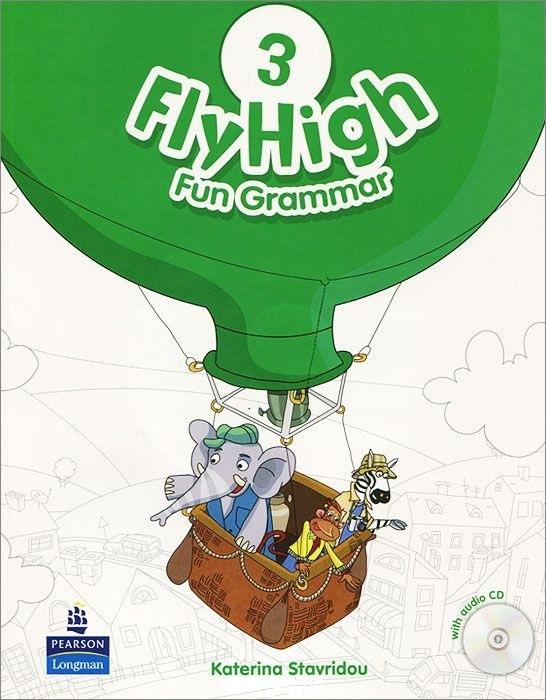 "Купить книгу ""Fly High: Level 3: Fun Grammar (+ CD-ROM)"""