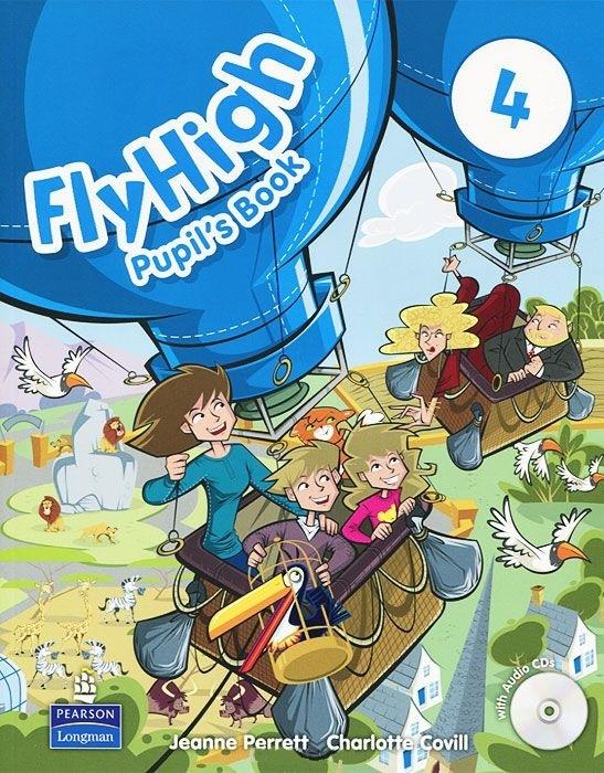 """Купить книгу """"Fly High 4: Pupil's Book (+ CD-ROM)"""""""
