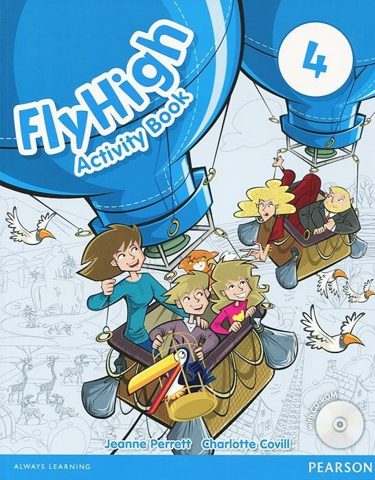"Купить книгу ""Fly High: Level 4: Activity Book (+ CD-ROM)"""