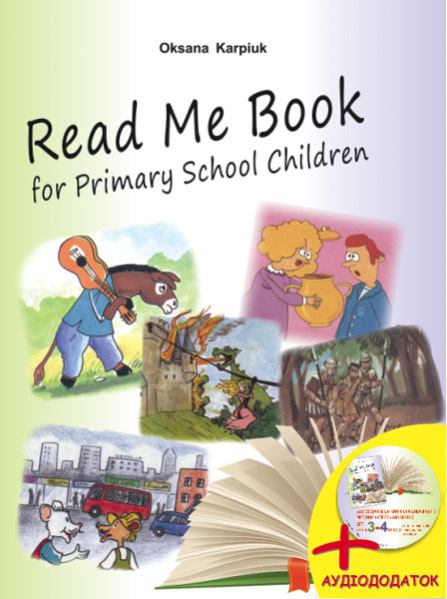 "Купить книгу ""Eglish for Primary School Children. Read Me Book. 3-4 клас"""