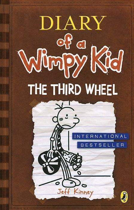 "Купить книгу ""Diary of a Wimpy Kid: The Third Wheel. Book 7"""