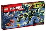 Конструктор LEGO Атака Дракона Моро (70736)