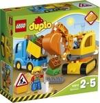 Конструктор LEGO Грузовик и гусеничный экскаватор (10812)