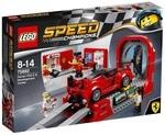 Конструктор LEGO Ferrari FXX K и Центр разработки и проектирования (75882)