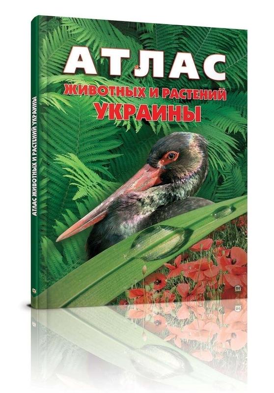"Купить книгу ""Атлас тварин і рослин України"""