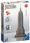3D пазл Ravensburger Небоскреб Empire State Building 216 элементов (12553)