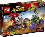 Конструктор LEGO Халк против Красного Халка (76078)