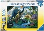 Пазл Ravensburger. Динозавры. 100 элементов (10740)