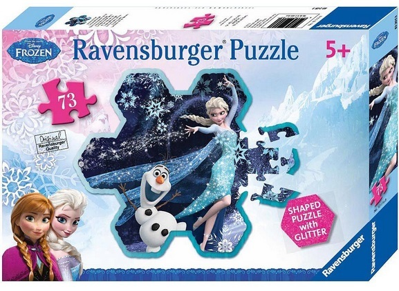 """Купить """"Пазл Ravensburger. Холодное сердце. Эльза снежинка. 73 элемента (13641)"""""""