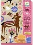 Художественный комплект. Djeco. Рисование цветным песком. Чудеса леса (DJ08662) - купити онлайн