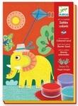 Художественный комплект. Djeco. Рисование цветным песком. Прогулка (DJ08660) - купити онлайн