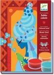 Художественный комплект. Djeco. Рисование цветным песком. Голубые принцессы (DJ08637) - купити онлайн