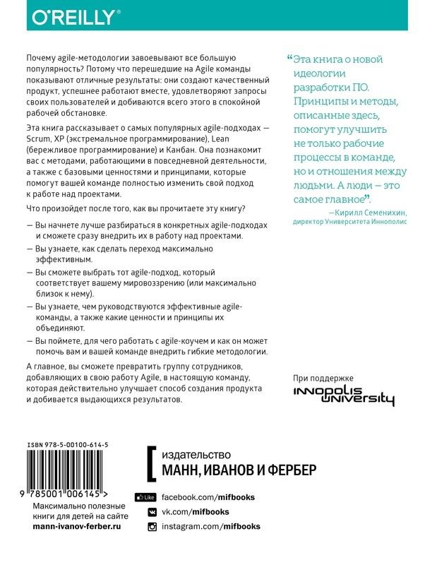 """Купить книгу """"Постигая Agile. Ценности, принципы, методологии"""""""
