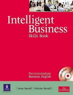 "Купить книгу ""Intelligent Business. Pre-Intermediate. Skills Book and CD-ROM pack"""