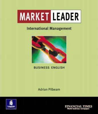 """Купить книгу """"Market Leader. International Management"""""""