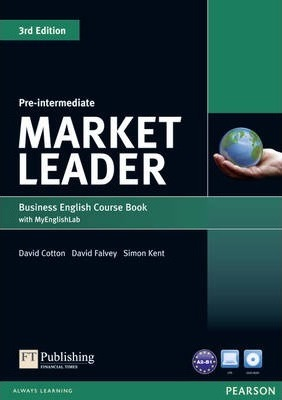"Купить книгу ""Market Leader. 3rd Edition. Pre-Intermediate. Coursebook with DVD-ROM and MyEnglishLab"""