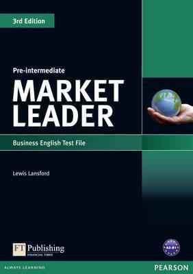 "Купить книгу ""Market Leader. 3rd edition. Pre-Intermediate. Test File"""