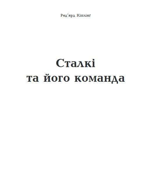 """Купить книгу """"Сталкі та його команда"""""""