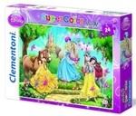 Пазл. Clementoni. Princess. 24 элементов (24447)